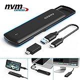 FIDECO M.2 NVME USB C SSD Enclosure Adapter, USB 3.1 Gen 2 10Gbps