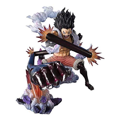 Siyushop One Piece: Monkey D Luffy Gear 4 Snakeman King Cobra Estatua De Una Pieza - 6.3 Pulgadas De Alto