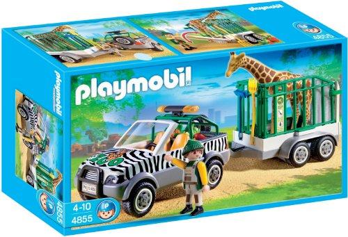PLAYMOBIL® 4855 - Zoo Fahrzeug mit Anhänger