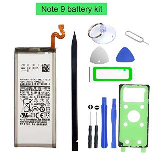 HDCKU Battery Replacement Kit for Samsung Galaxy Note 9 EB-BN965ABU Genuine Battery 4000mAh 12 Months Warranty