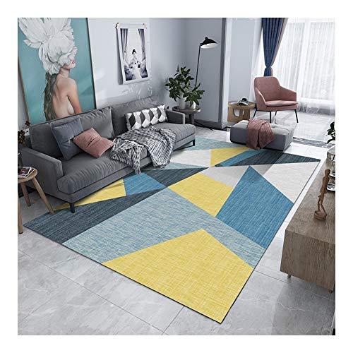 dywan, tradycyjny, geometryczny nowoczesny dywan do salonu, prosty, duży, do domu, sypialni, przedpokoju, na łóżko, prostokątny, patchworkowy dywan w korytarzu, 80 cm x 120 Limi