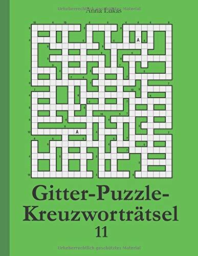 Gitter-Puzzle-Kreuzworträtsel 11