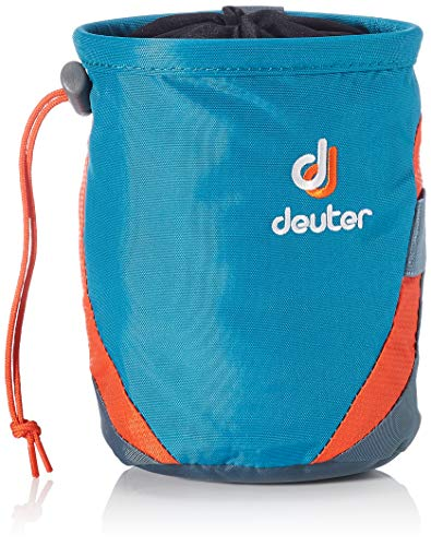 Deuter Unisex– Erwachsene Gravity Chalk Bag I L, Petrol-Granite, 17 x 13 x 11 cm