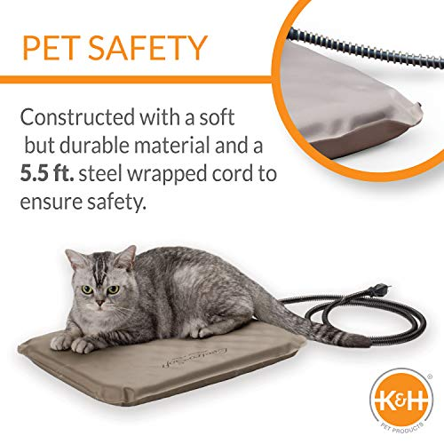 Product Image 1: K&H PET PRODUCTS Lectro-Soft Outdoor Heated Pet Bed