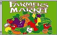 国旗 スーパーマーケット 市場 果物 野菜 のぼり旗 特大フラッグ