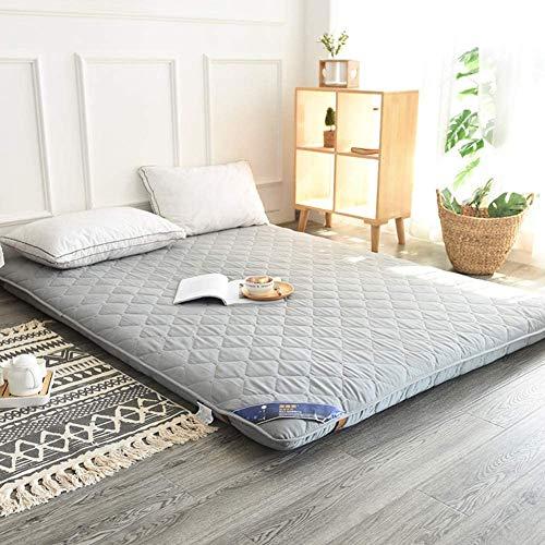 Buy Z&HA Japanese Floor Mattress, Foldable Roll Up Mattress Soft Breathable Tatami Fold Futon Anti-Slip High Durability,Gray,90x200cm