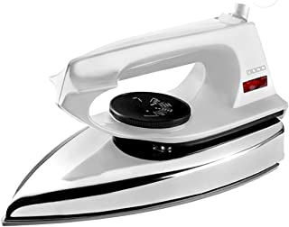 Usha EI 2802 1000-Watt Ultra Lightweight Dry Iron (White)