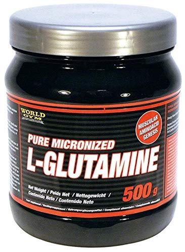 World Gym - GLUTAMINA PURA MICRONIZADA: PURE MICRONIZED L-GLUTAMINE - 500 gr