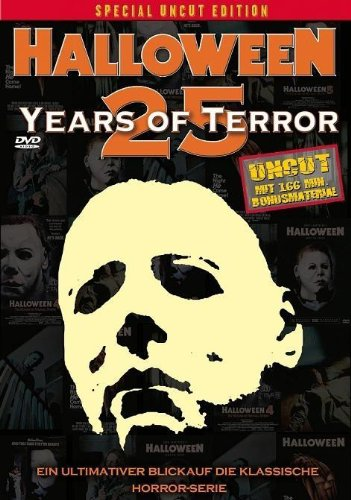Michael Myers - HALLOWEEN - 25 Years Of Terror UNCUT SPECIAL 2 DVD BOX Edition mit 166 Min Bonusmaterial