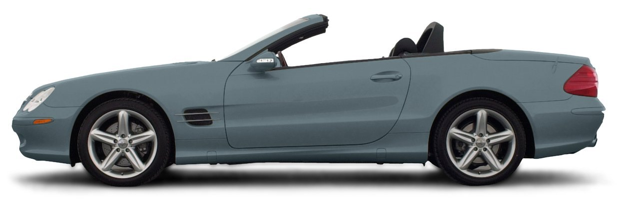 2003 mercedes-benz sl500, 2-door roadster 5 0l