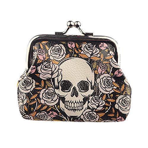 Skull & Roses Coin Purse