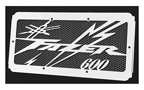 Cache radiateur/Grille de radiateur 600 FZS Fazer 98>01 et 02>03 Design «Eclair » + Grillage Noir