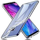 Whew Transparent Weich Hülle Kompatibel mit Samsung Galaxy