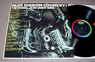 VARIOUS - blue ribbon country CAPITOL 2969 (LP vinyl record)