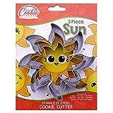 Sun Cookie Cutter Set, 3 Piece, Stainless Steel