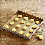 HKRT Molde para magdalenas y magdalenas, molde para hornear tartas, molde cuadrado de 28 cm, molde cuadrado para hornear pan