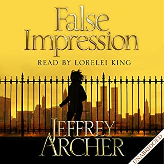 False Impression                   By:                                                                                                                                 Jeffrey Archer                               Narrated by:                                                                                                                                 Lorelei King                      Length: 10 hrs and 29 mins     42 ratings     Overall 4.2