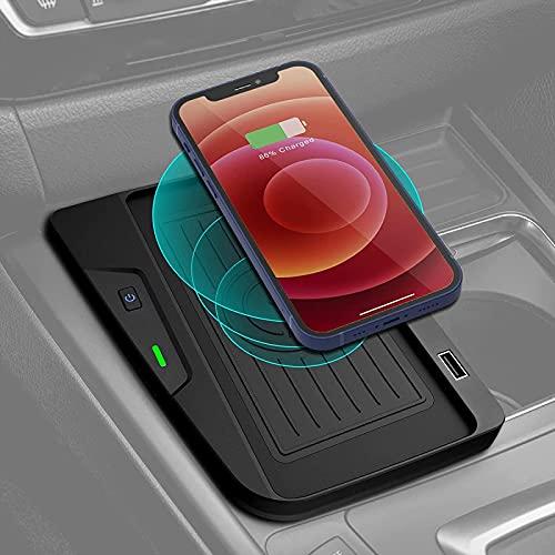 QXIAO Cargador Inalámbrico para Coche para BMW Serie 3 2016-2018 Accesorios F30 F31 F34 M3 2018-2020 Base de Carga Inalámbrica BMW Serie 4 M4 para 320i/328i/328d/330i/340i/430i/440i/430i 440i XDrive