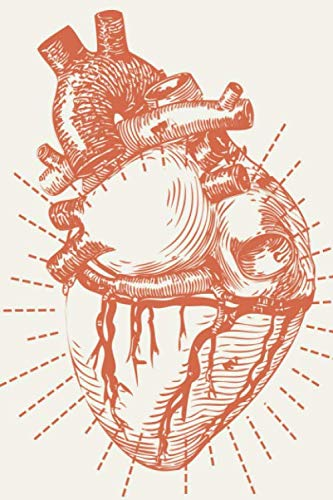 Krankenschwester Notizbuch: Pflegejournal / planer / Organizer für Pfleger & Krankenschwestern zum ausfüllen und eintragen mit Vorlage & Checkliste | anatomisches Herz Motiv