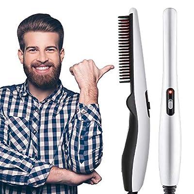 Beard Straightener Comb Quick