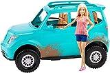 Barbie FGC99 Camping Fun Fahrzeug und Puppe, Spielzeug ab 3 Jahren, Mehrfarbig