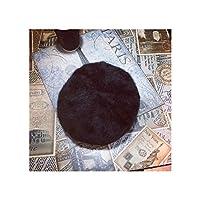 怒っている怖い黒猫財布 本物 革 ジッパー コインフォン 財布 クラッチレディース用