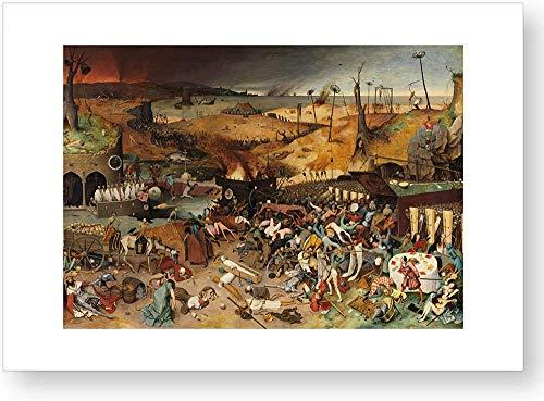 """""""El triunfo de la Muerte"""", impresión oficial del Museo del Prado"""