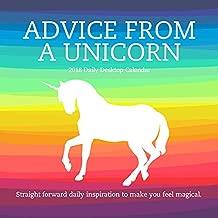 2018 Advice from a Unicorn Daily Desktop Calendar