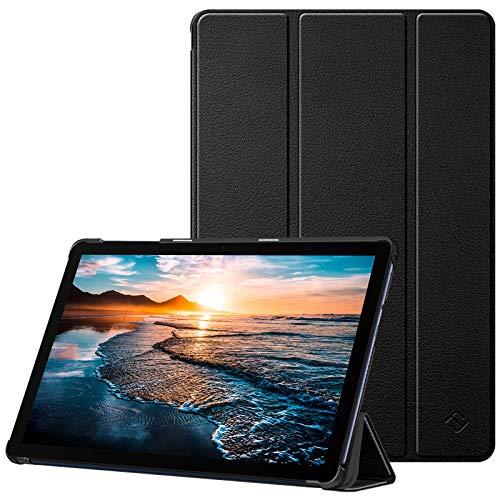Fintie Hülle Hülle für Huawei MatePad T10/T10s 10.1 Zoll - Ultra Dünn Superleicht Flip Schutzhülle mit Zwei Einstellbarem Standfunktion für Huawei Matepad T10 T10s 10.1 Tablet 2020, Schwarz