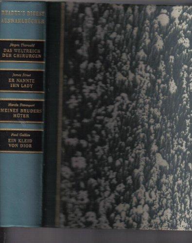 Auswahlbücher I/1961 (Das Weltreich der Chirurgen, Er Nannte Ihn Lady, Meines Bruders Hüter, in Kleid von Dior)