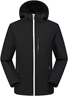 Sport Coats,IHGTZS Men Winter Hooded Softshell for Windproof and Waterproof Soft Coat Shell Jacket