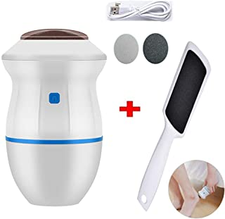 Professional Pedicure Tools Electric Vacuum Adsorption Foot Grinder, Dual-Speed Electronic Callus Remover For Feet, USB Rechargeable Foot Scrubber Dead Skin for Old Dry Cracked Cocoon (Blue)