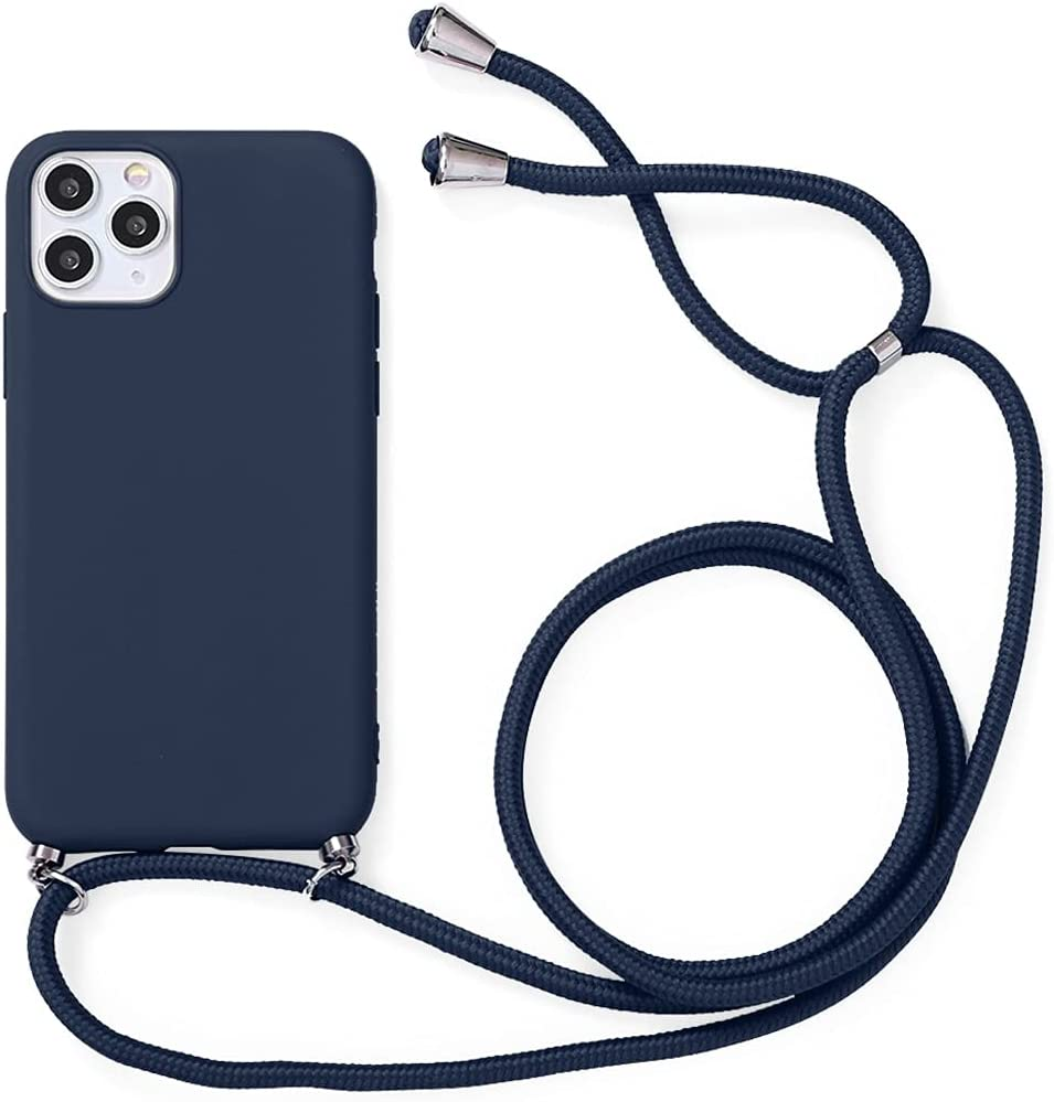 Yoedge Crossbody Case for Huawei P20, Neck Cord Phone Case with Adjustable Lanyard Strap, Soft TPU Silicone with Cute Pattern Cover Compatible with Huawei P20 [5.8