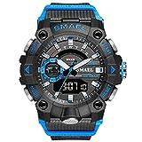 Reloj de pulsera digital analógico para hombre, deportivo,...