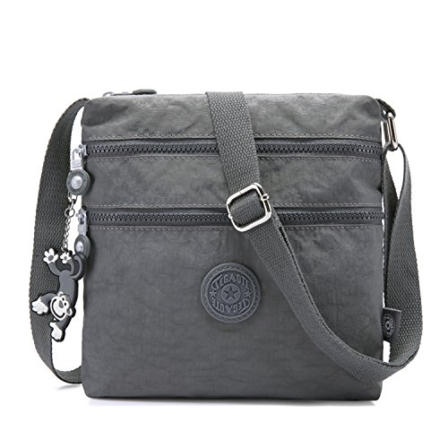Foino Women Shoulder Bag Travel Cross Body Bag Casual Messenger Bag for Sport Fashion Satchel Girls Crossbody Side Pack
