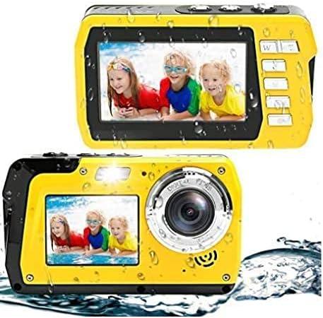 Underwater Camera Large Elegant discharge sale Waterproof Digital Dual Screen Selfie V