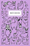 Notebook: Llama Alpaca - (Composition Book Journal) 6x9 120 White Pages: for Kids, Girls, Boys, Teens, and Students