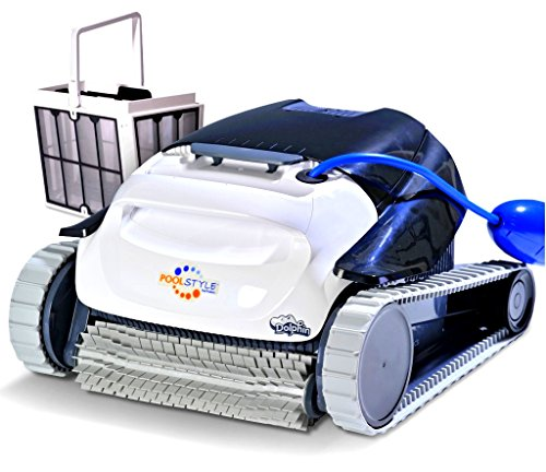 Maytronics Dolphin PoolStyle AG Plus Digital - Robot Elettrico Pulitore per Piscina Fino a 10 Mt - Fondo + PARETI - Esclusiva Italia - MY2021