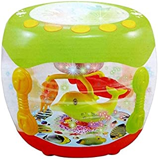 A M Enterprises Electronic Musical Moving Fish Drum
