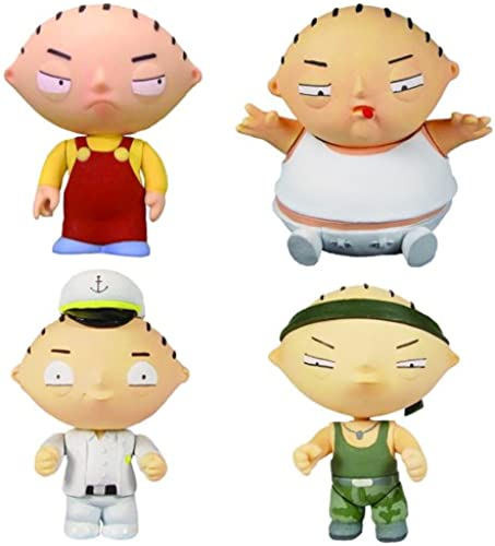 Family Guy - Stewie Griffin Minis Box Set (4 Fig.)