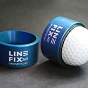 GrooveFix LineFix360 Golf Ball line marker from