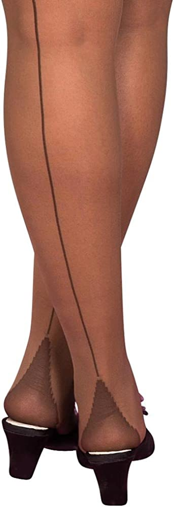 What Katie Did Seamed Stockings Nutmeg Glamour