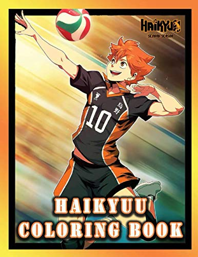 Haikyuu Coloring Book: Haikyuu Coloring Book: Volleyball Sport Collection Haikyuu Coloring Books A Perfect Gift For Kids And Adults