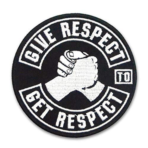 Aufnäher Aufbügler Patch Biker give Respect