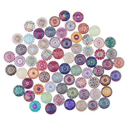 dailymall Glas Cabochons Anhänger Charm Dome Fliesen Bild Für Die Juwelenherstellung - 1