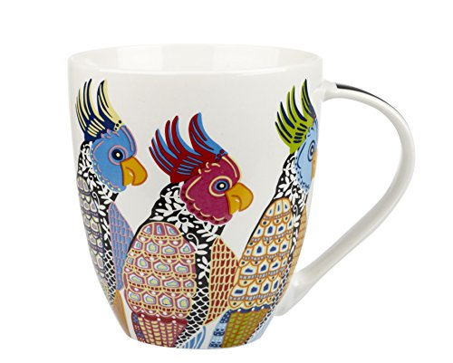 Churchill Couture Parakeet Fine China Gift Coffee Mug