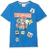 Super Mario Bros Chicos Camiseta Manga Corta - Azul - 104