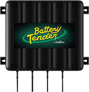 Battery Tender 4-Bank: 12V, 1.25 Amp Battery Charger - 12V Battery Charging Bank with 4 Ports - Simultaneously Charges and...