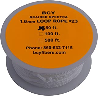 BCY Size 23 Release Rope Spectra White 1 Meter