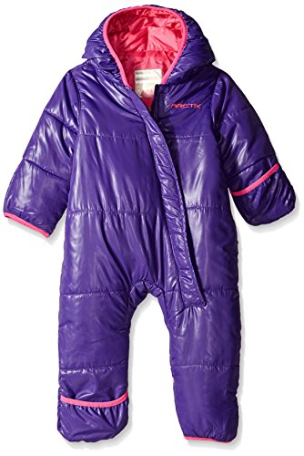 Arctix Infant Bunting Snow Suit, Purple, 12-18 Months